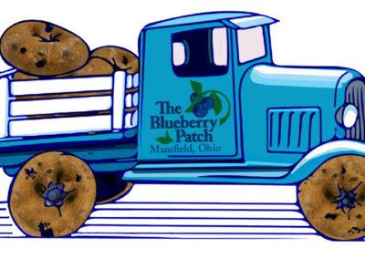blueberry-truck